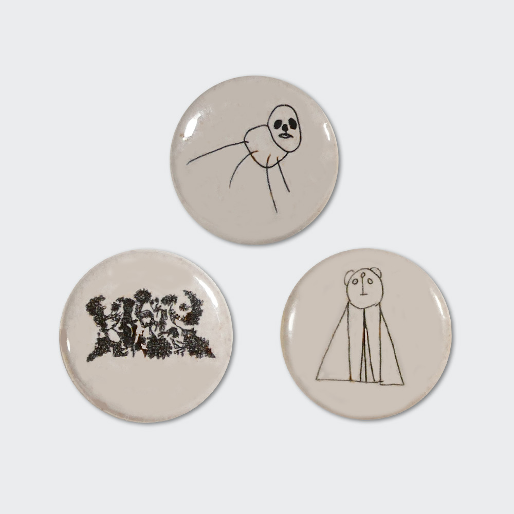 """Akuma no Uta"" Badge Set"