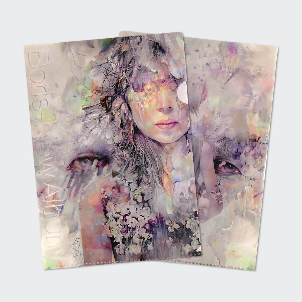 """""""New Album"""" Plastic Folder"""