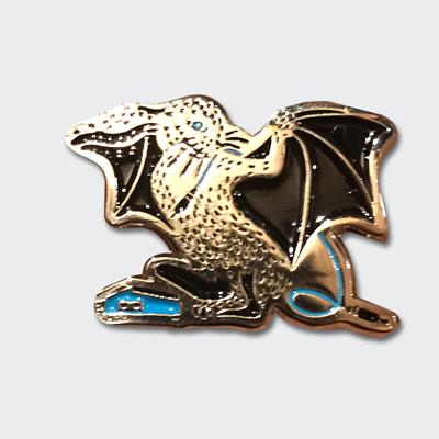 """EVΦL"" Bunnicula Enamel badges"