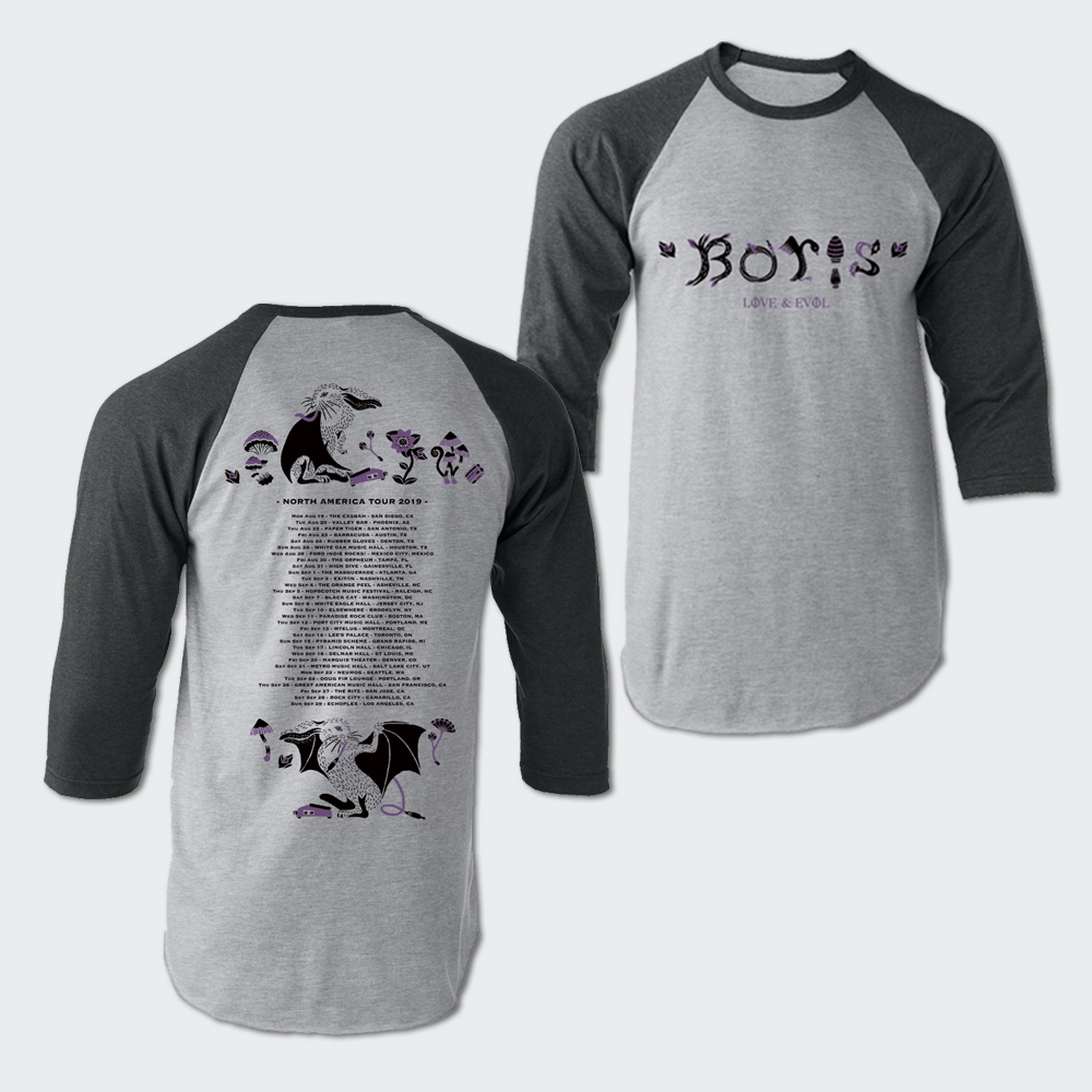 North America Tour 2019 Raglan T-shirt