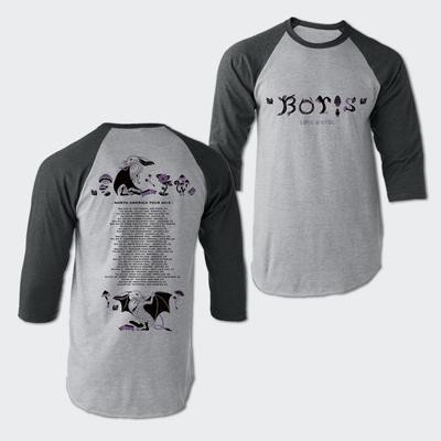 North America Tour 2019 Raglan T-shirt