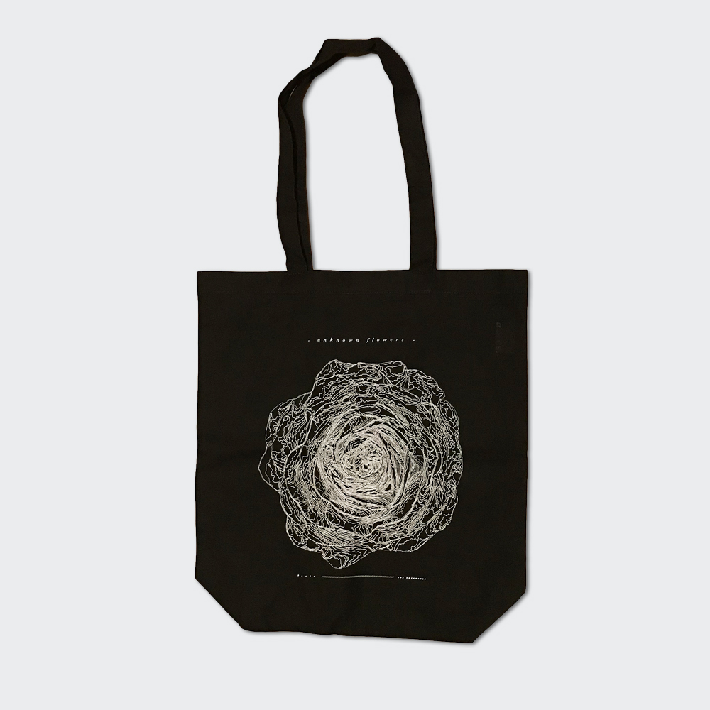 "Boris / THE NOVEMBERS ""unknown flowers"" Tote Bag"