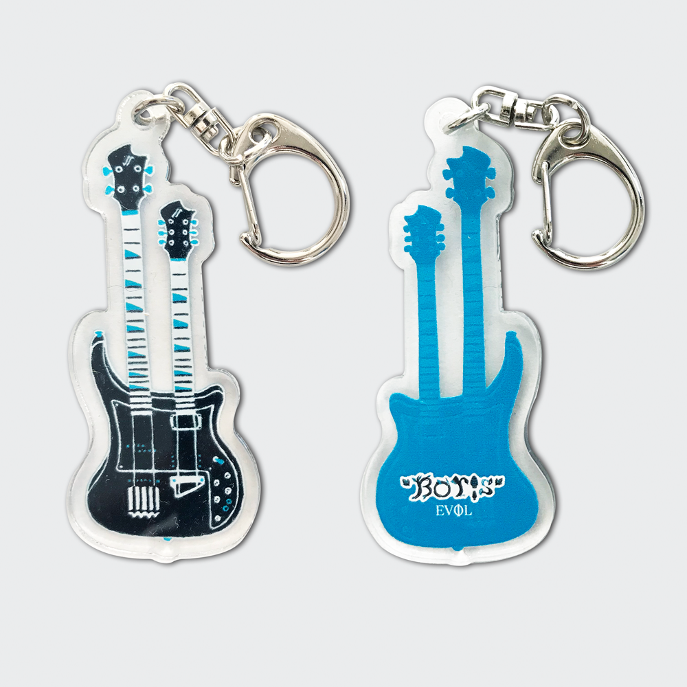 """EVOL"" Double Neck Keyring"